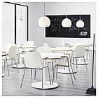 Кресло кухонное IKEA SVENBERTIL Dietmar белое 191.977.04, фото 5