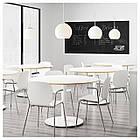 Кресло кухонное IKEA SVENBERTIL Dietmar белое 191.977.04, фото 6