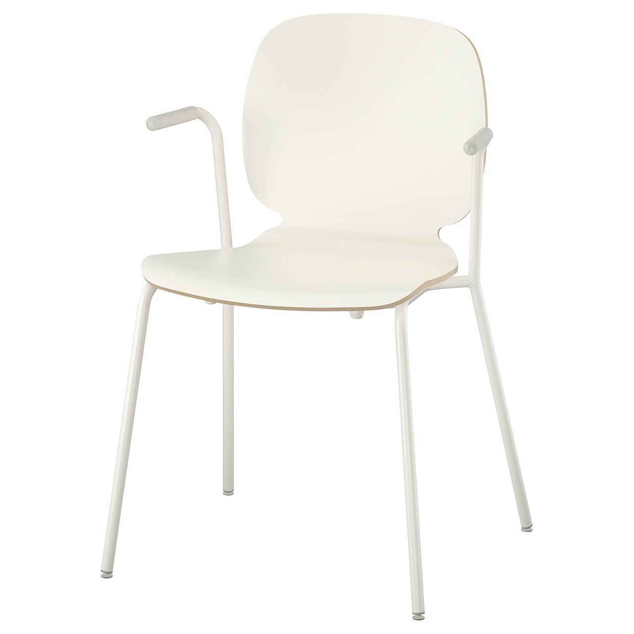 Кресло кухонное IKEA SVENBERTIL Dietmar белое 492.597.43