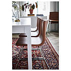 Кресло кухонное IKEA BERNHARD Mjuk коричневое 504.048.24, фото 4