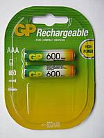 Аккумуляторы GP AAА 600 mAh