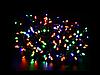 Гирлянда 100 led светодиодная длина 8 метров золотая (разноцветная RGB) с контроллером 8 режимов +удлинитель