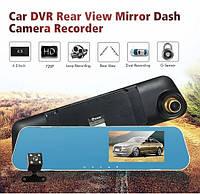 Видеорегистратор зеркало DVR T1 BlackBox Full HD 1080P на 2 камеры!, фото 1