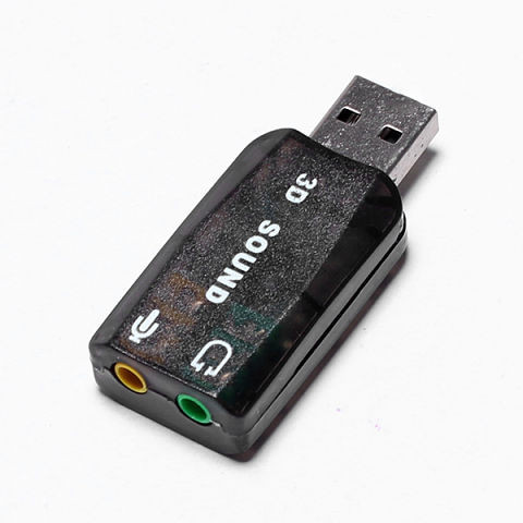 Внешняя USB звуковая карта 3D Sound card 5.1 - DariVsem в Днепропетровской области