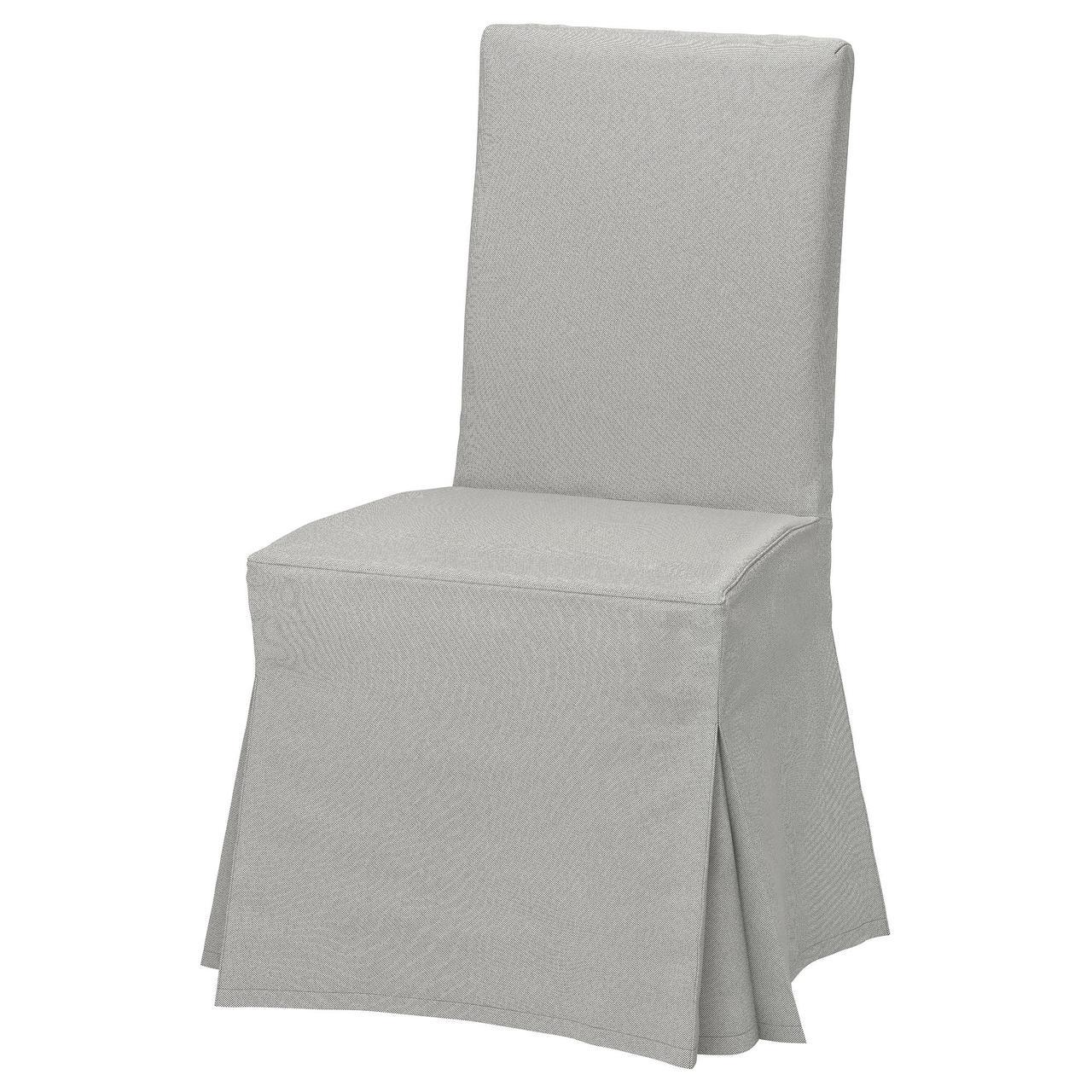 Кресло кухонное IKEA HENRIKSDAL Orrsta светло-серое 592.134.34