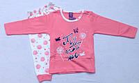 Пижама детская интерлок 1-3 года