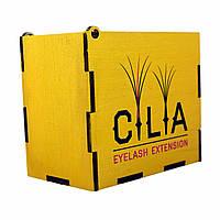 LashBox Для Ресниц Cilia [GOLD] (Лэшбокс С 5 Планшетками), фото 1