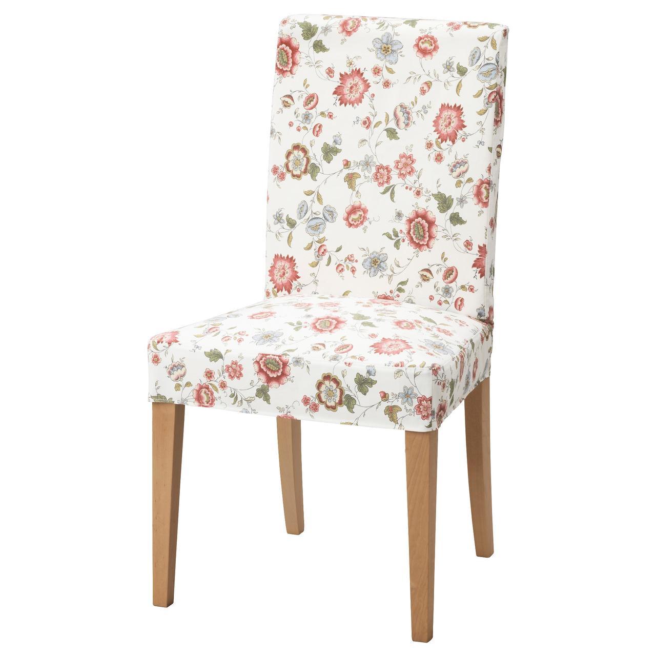 Кресло кухонное IKEA HENRIKSDAL Videslund береза разноцветное 292.463.65