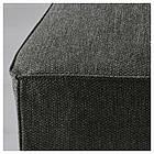 Кресло кухонное IKEA HENRIKSDAL Dansbo коричневое темно-серое 692.203.54, фото 4