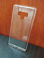 Ультратонкий прозрачный силиконовый чехол для Samsung Galaxy Note9 (Уценка)