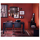 Кресло кухонное IKEA BERNHARD Kavat Mjuk темно-коричневое 201.638.02, фото 7