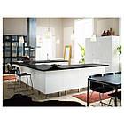 Кресло кухонное IKEA BERNHARD Kavat Mjuk темно-коричневое 201.638.02, фото 8