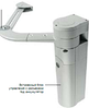 Автоматический привод NICE WALKY 1024 для калитки и малых ворот