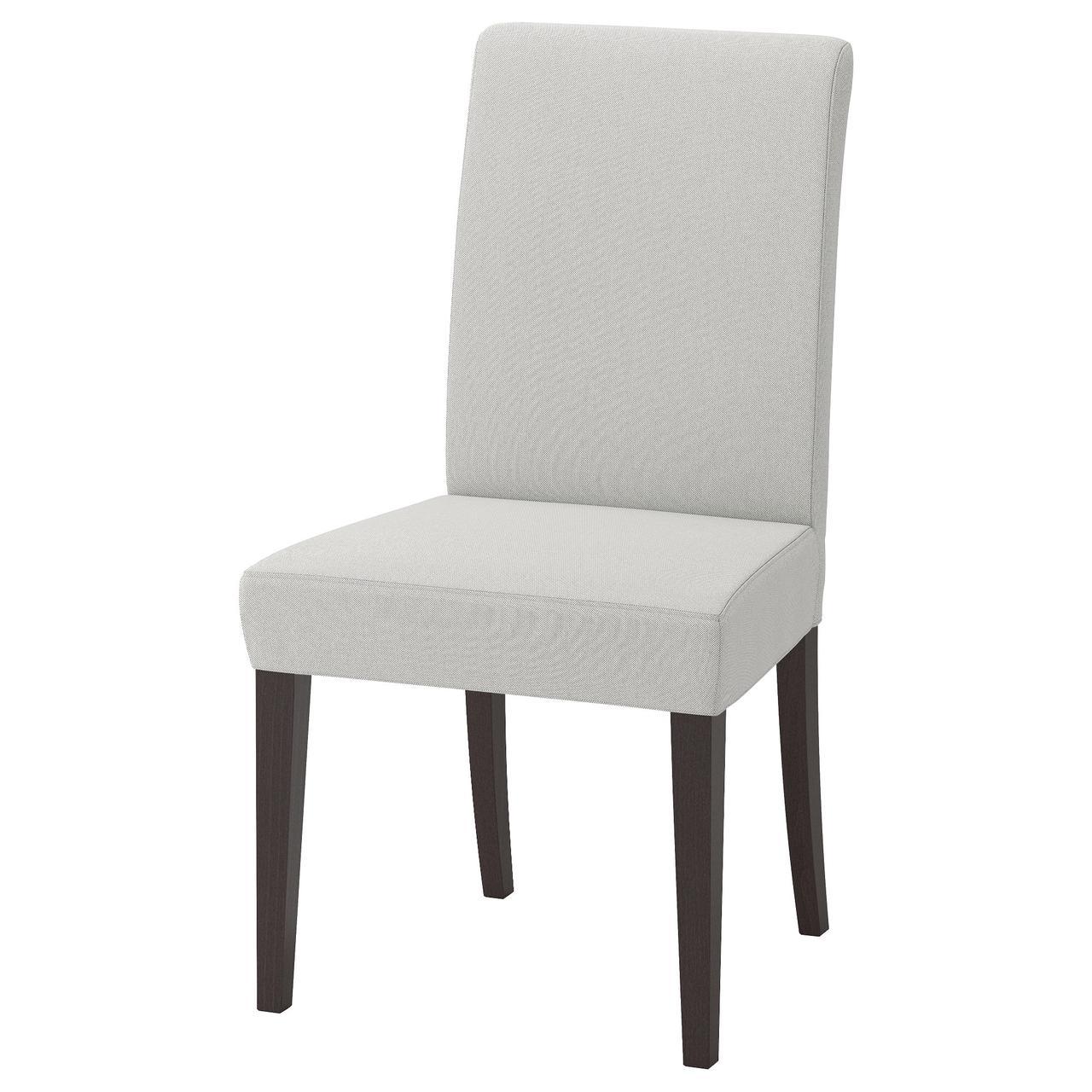Кресло IKEA HENRIKSDAL Orrsta светло-серое 492.203.74