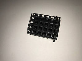 Кормушка фидерная 120g металл черная закрытая
