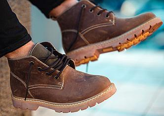 Ботинки Мужские Зимние South jaston brown коричневые, оригинал