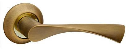 Ручка раздельная CLASSIC AR AB/GP-7, квадрат 8x140 мм