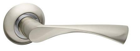 Ручка раздельная CLASSIC AR SN/CP-3, квадрат 8x140 мм