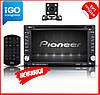 2din Автомагнитола Pioneer 6002B DVD,GPS,Windows CE + КАМЕРА+КАРТЫ!