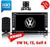 2din Штатная магнитола Volkswagen T4/T5/Golf4/PassatB5, FY6002B DVD,GPS,Windows CE + КАМЕРА+КАРТЫ!