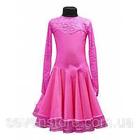 Рейтинговое платье для танцев розовое