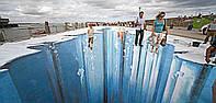 Дизайнерские наливные 3D полы | Наливной полимерный пол с 3д эффектом , фото 1