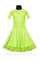 Рейтинговое платье салатовое