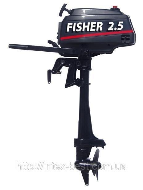 2-х тактные моторы Parsun, Fisher.