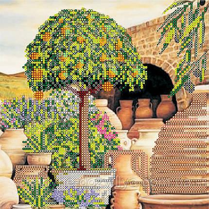 Схема для вышивки бисером Мандариновое дерево, фото 2