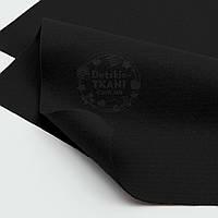Мягкий листовой фетр чёрного цвета 20*30 см (ФМ-36)