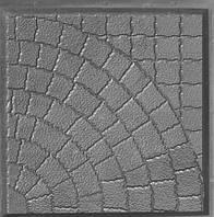 Форма для производства тротуарной плитки «Квадрат люк» 40х40