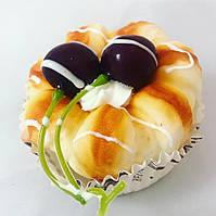 Муляжи хлебобулочных изделий.Муляж пирожного.