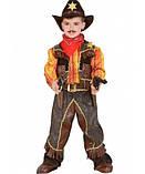 Шляпа Шерифа фетр (черная), фото 6