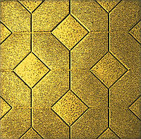 Форма для производства тротуарной плитки «Мозаика» 50х50