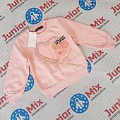 Трикотажные теплые детские кофты для девочек  оптом   HAPPY STAR