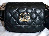 Женский клатч GUCCI, сумка на пояс, стильный на 2 отделения,  058232