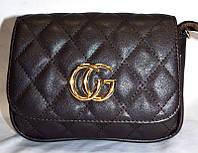 Женский клатч GUCCI, сумка на пояс, стильный на 2 отделения,  058233