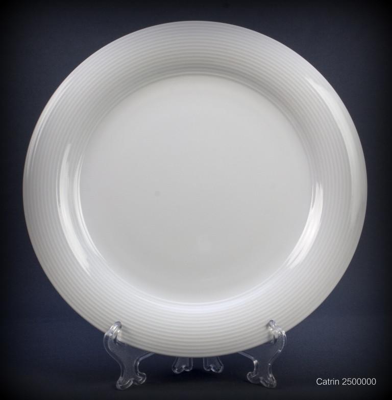Тарелка обеденная Thun Catrin (без декору) 6 штук d21 см фарфор (2500000)