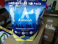 Таблетки для посудомоечных машин Astonish All in 1,100 штук.