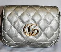 Женский клатч GUCCI, сумка на пояс, стильный на 2 отделения,  058234