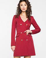 Женское деловое двубортное платье(5122-5123-5121ie)