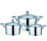 Набор посуды Maestro  6 предметов нержавейка (3506-6 MR)