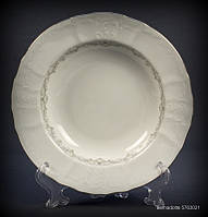 Тарелка глубокая Thun Bernadotte (Тонке мереживо) 6 штук d23 см фарфор (5763021)