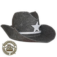 """""""Шериф"""", шапка для бани (эконом)"""
