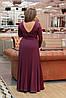 Платье  БАТАЛ  в пол в расцветках 05447А, фото 5