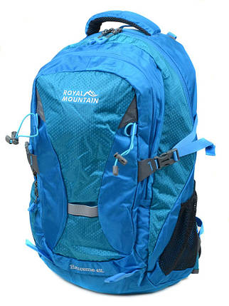 Рюкзак Туристический нейлон Royal Mountain 8462 l-blue, фото 2