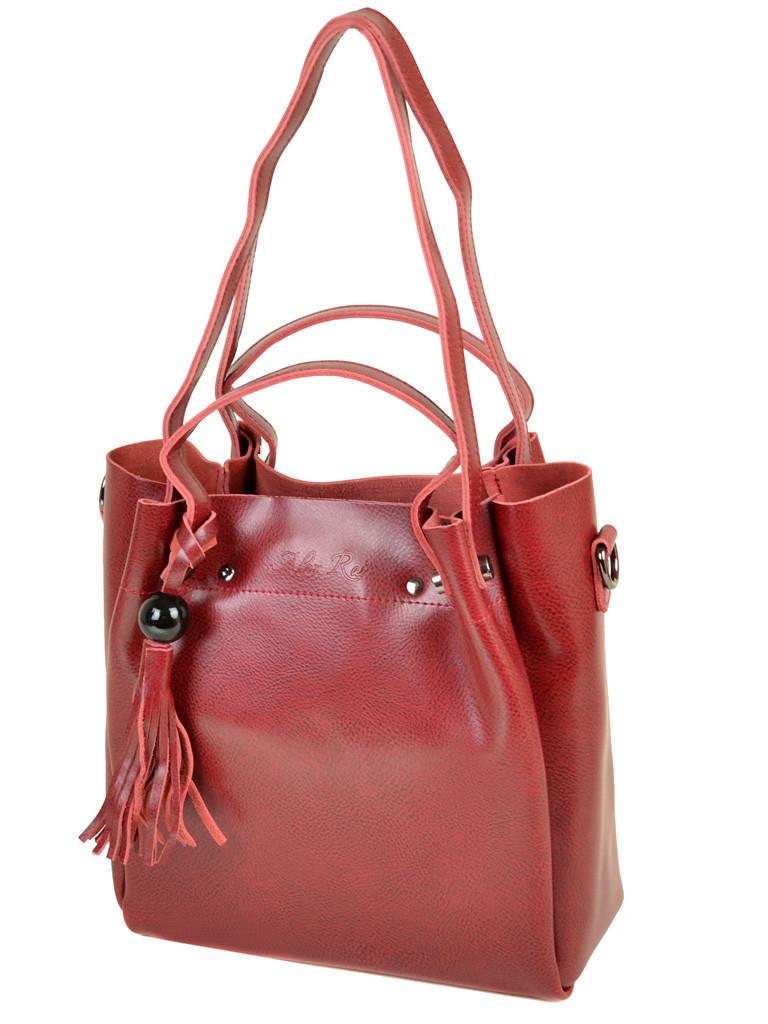 Сумка Женская Классическая кожа ALEX RAI 10-03 322 colored-red