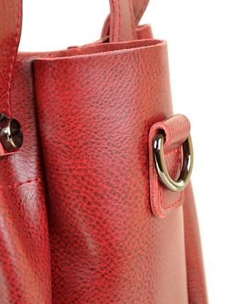 Сумка Женская Классическая кожа ALEX RAI 10-03 322 colored-red, фото 2