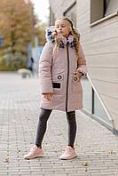 Зимняя куртка для девочек подростков, фото 1