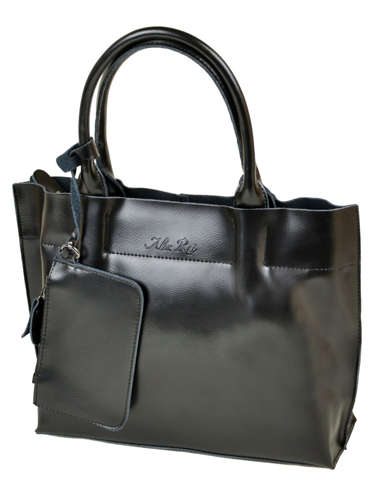 Сумка Женская Классическая кожа ALEX RAI 10-03 8546 black